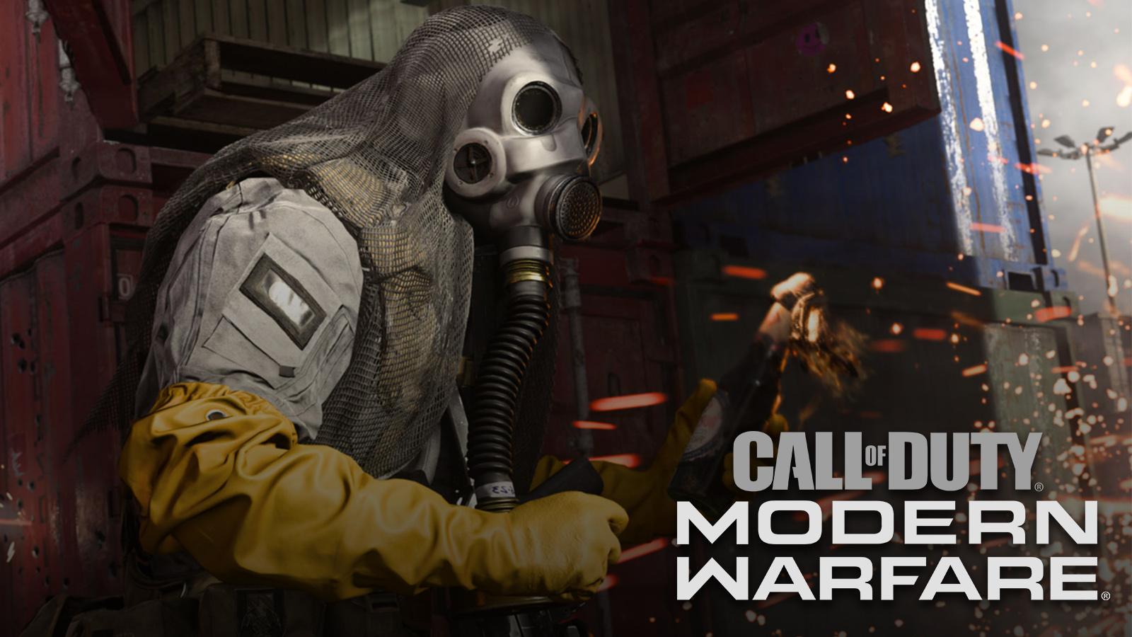 Modern Warfare's reduced visibility.