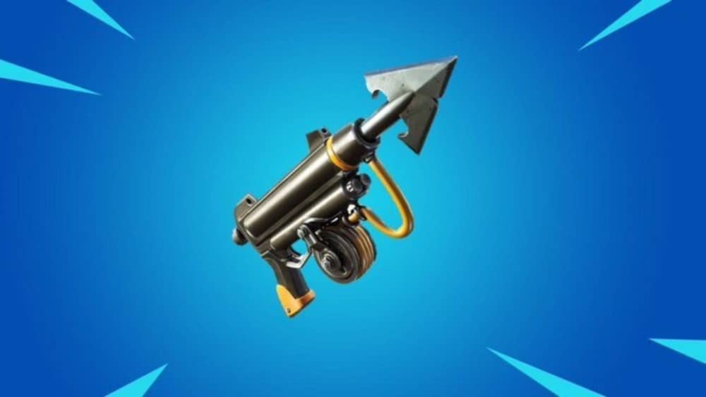 Image of the Harpoon Gun from Fortnite