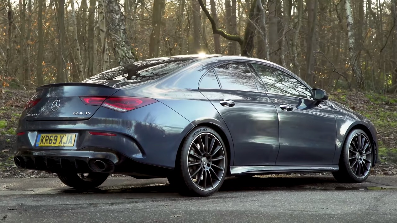 Mercedes-AMG CLA 35 reviewed on YouTube
