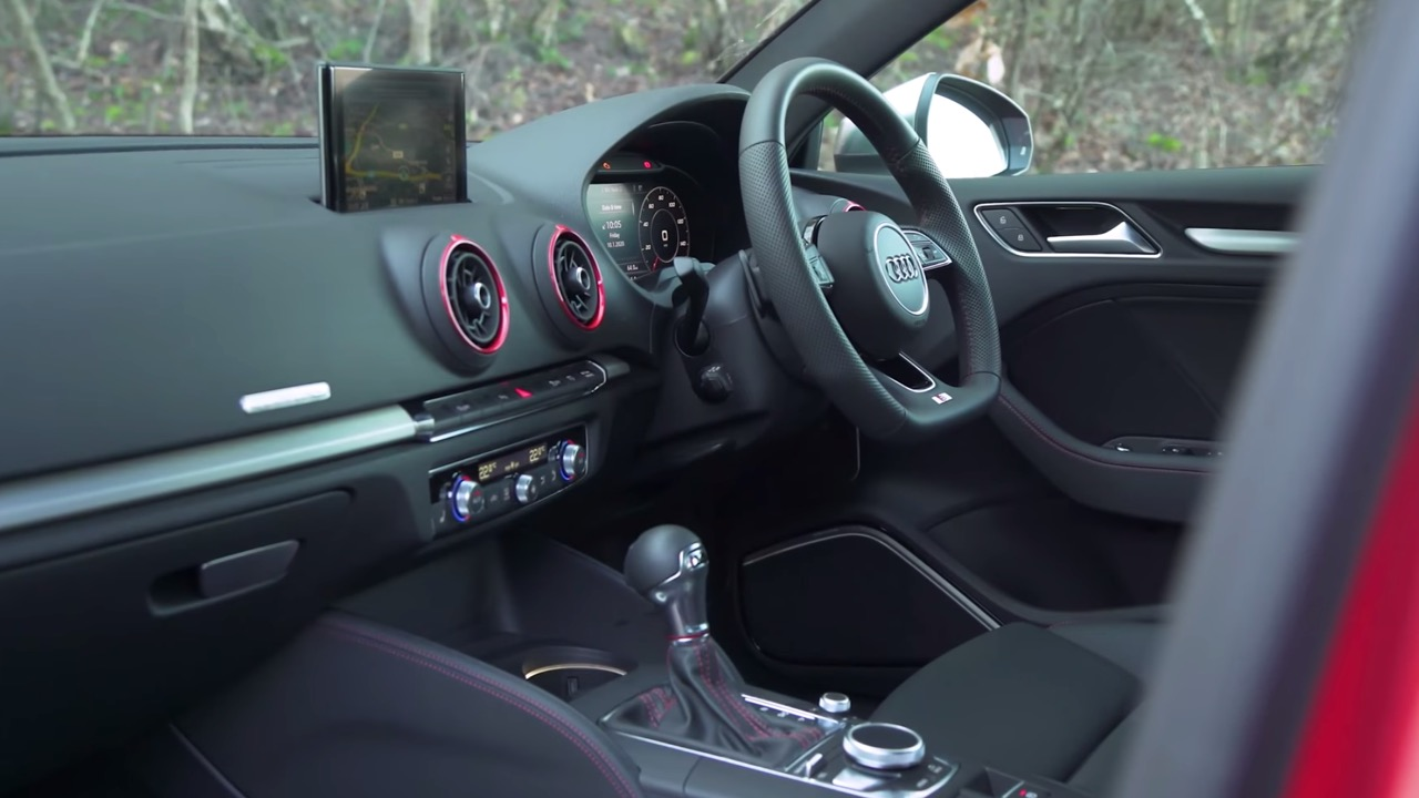 Audi S3 saloon interior