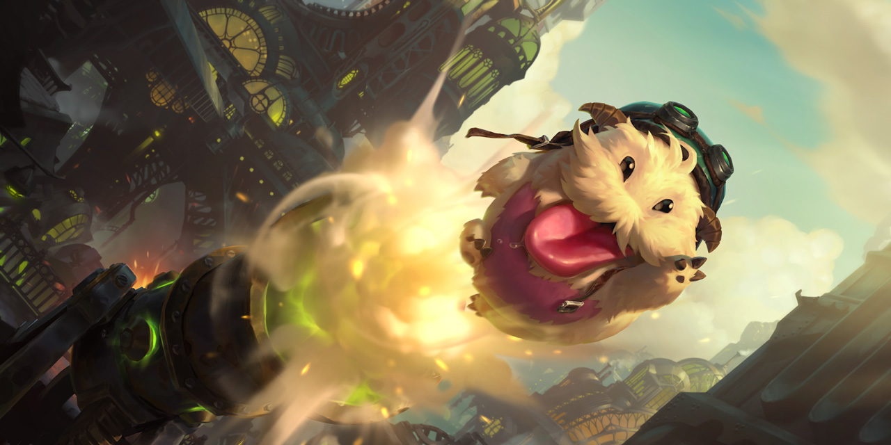 Poro background for Legends of Runeterra