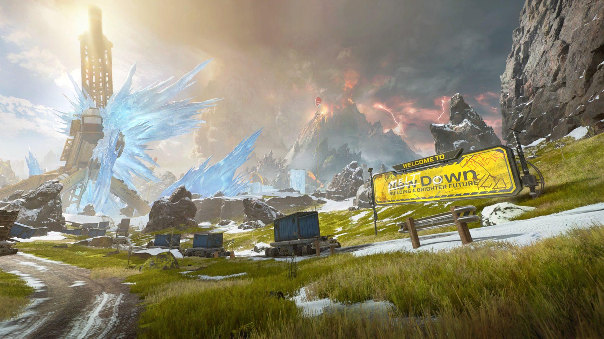 Apex Legends World's Edge overview