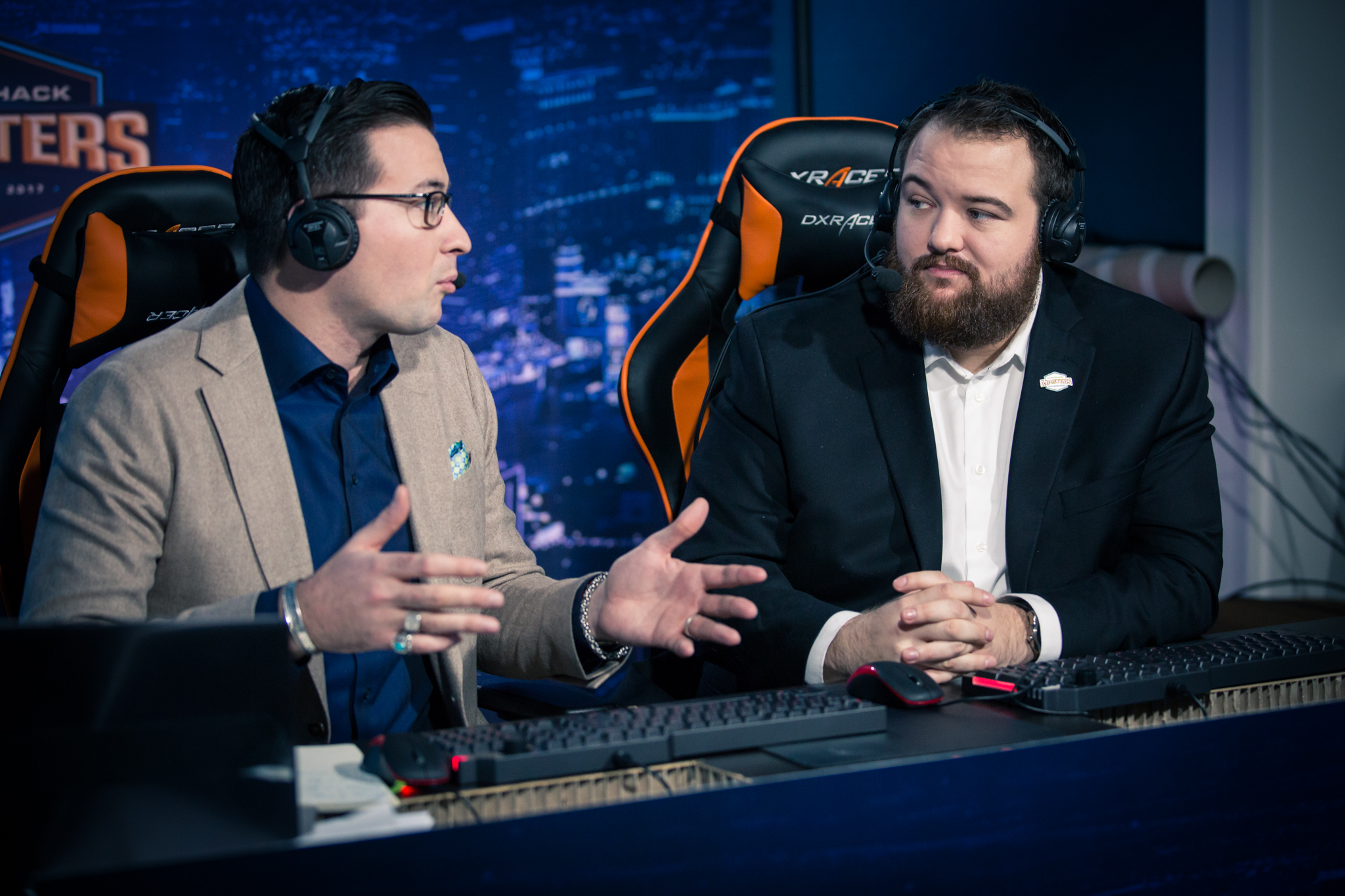 Anders and Semmler casting CS:GO