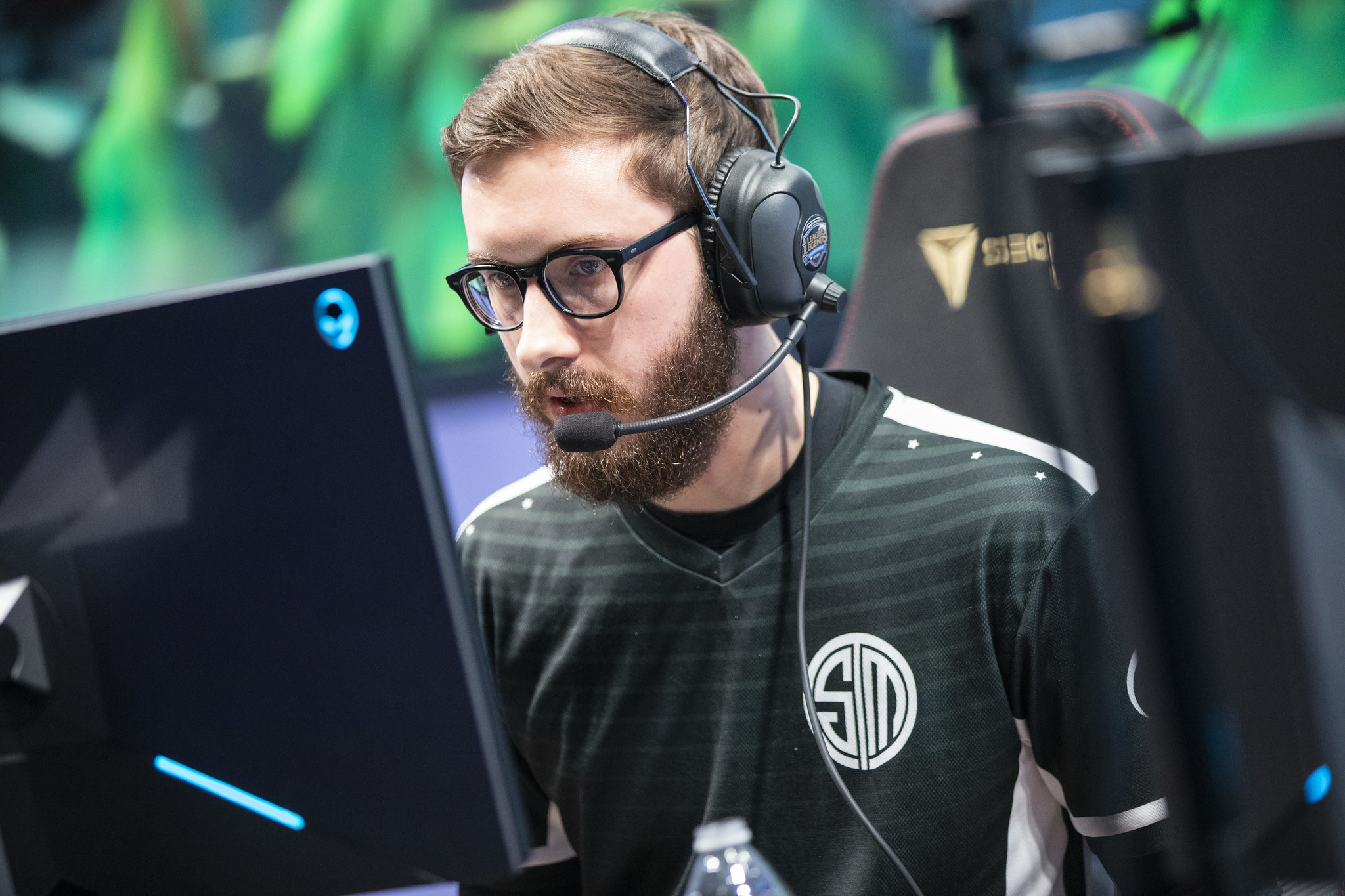 Bjergsen playing for TSM during LCS Spring 2019