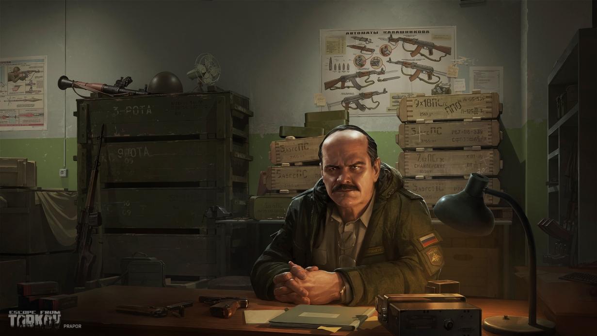 Escape from Tarkov prapor dealer