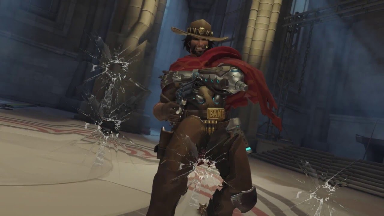 Overwatch's McCree takes aim