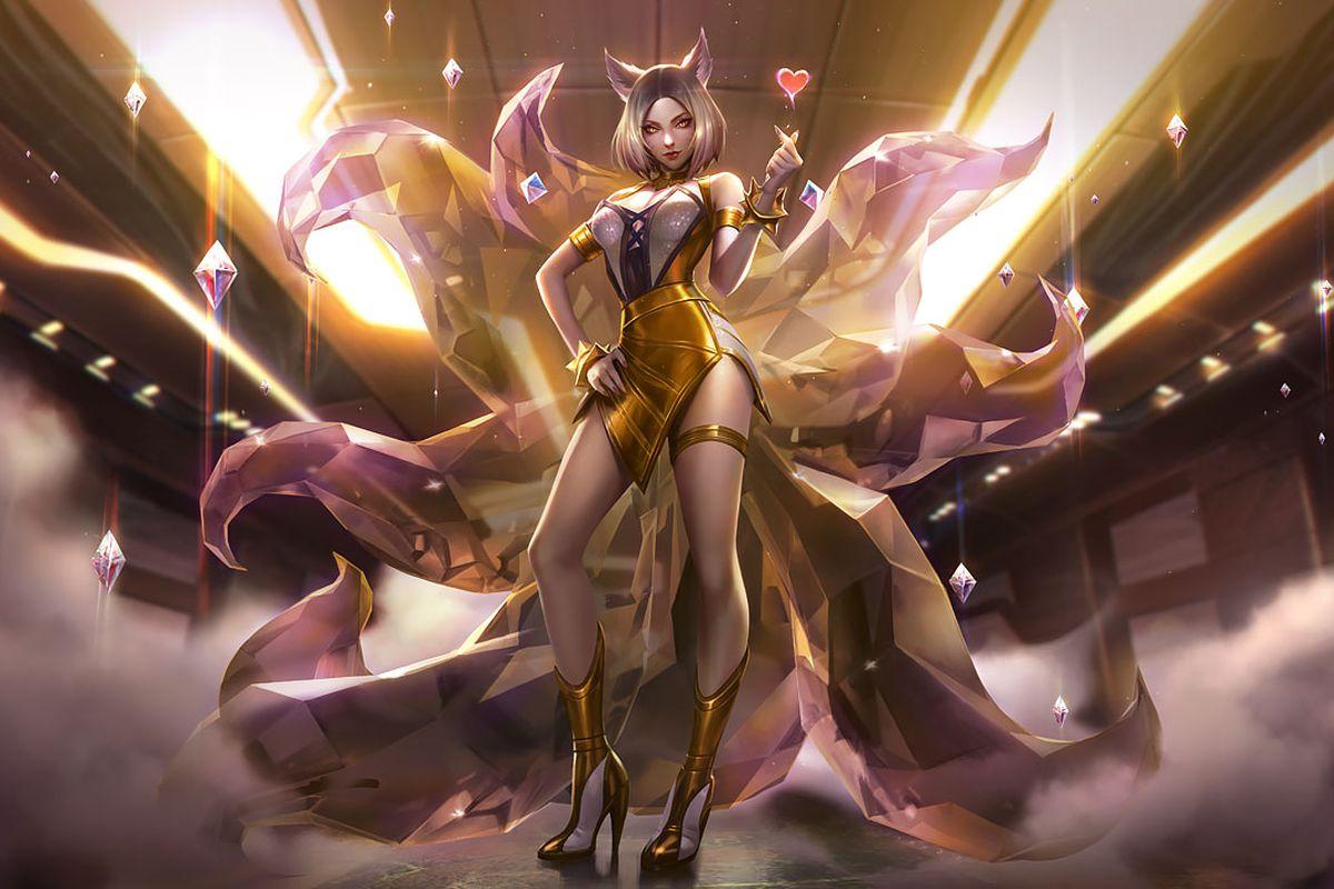 KDA Ahri Prestige skin for League of Legends