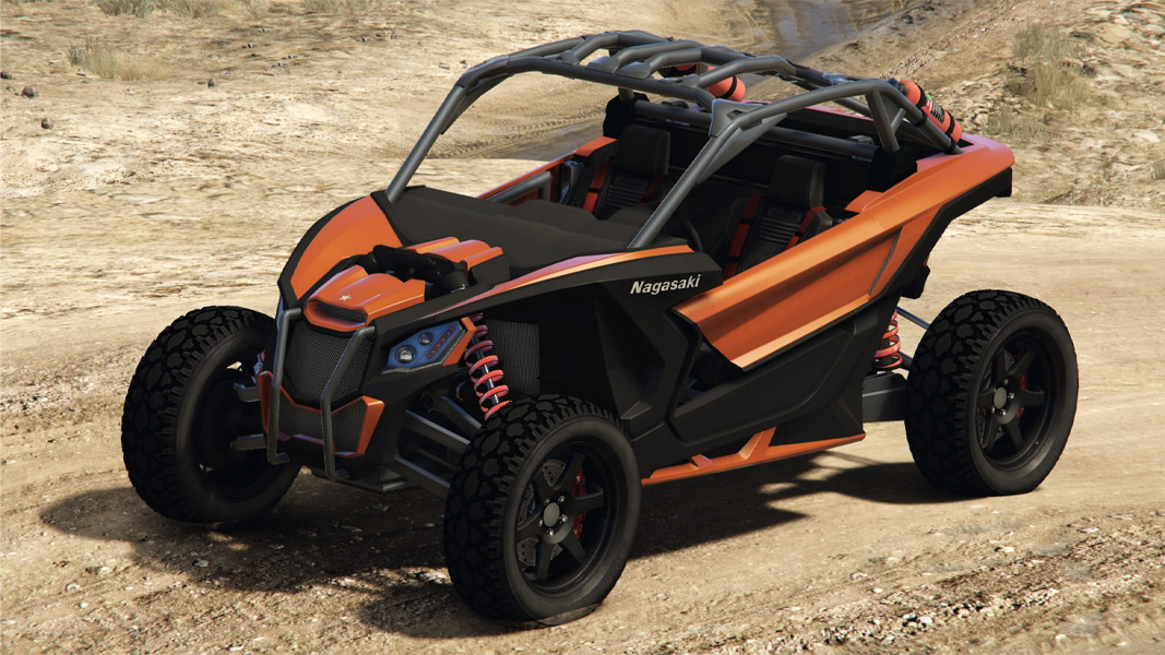 An image of an ATV from GTA Online.