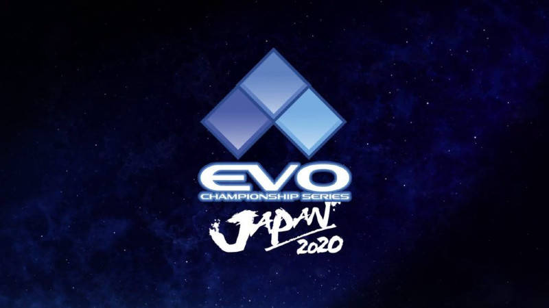 An image of the EVO Japan 2020 logo.