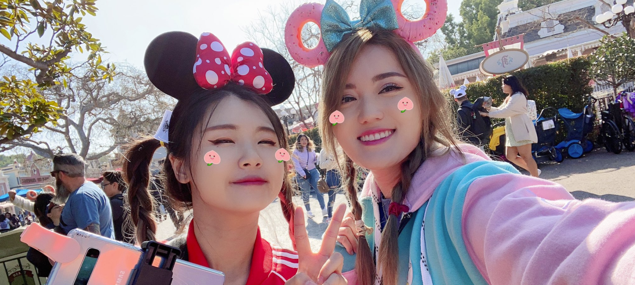 HAchubby visited Disneyland with Angelskimi.