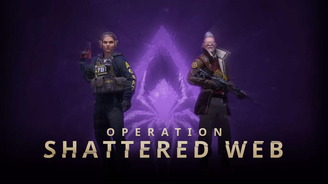 CSGOs Operation Shattered Web.