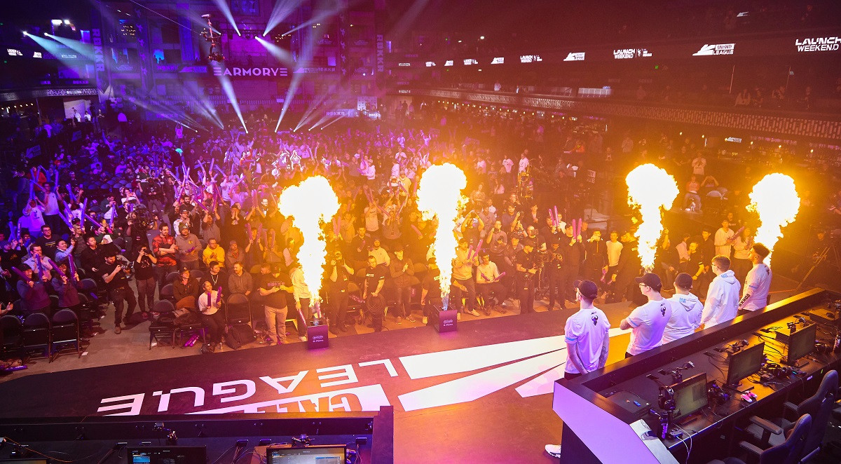 The Call of Duty League Launch Weekend in The Armory.