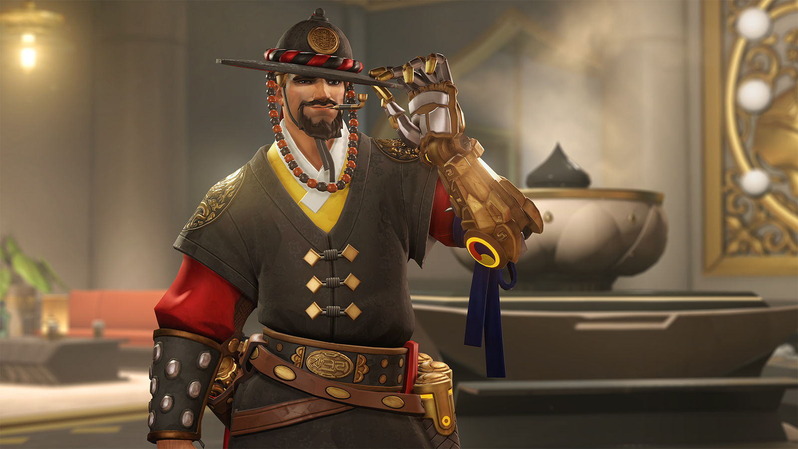 Magistrate McCree skin Overwatch Lunar New Year