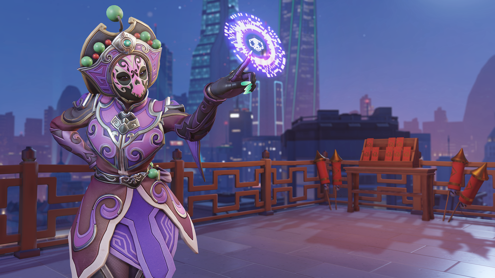 Face Changer Sombra skin in Overwatch
