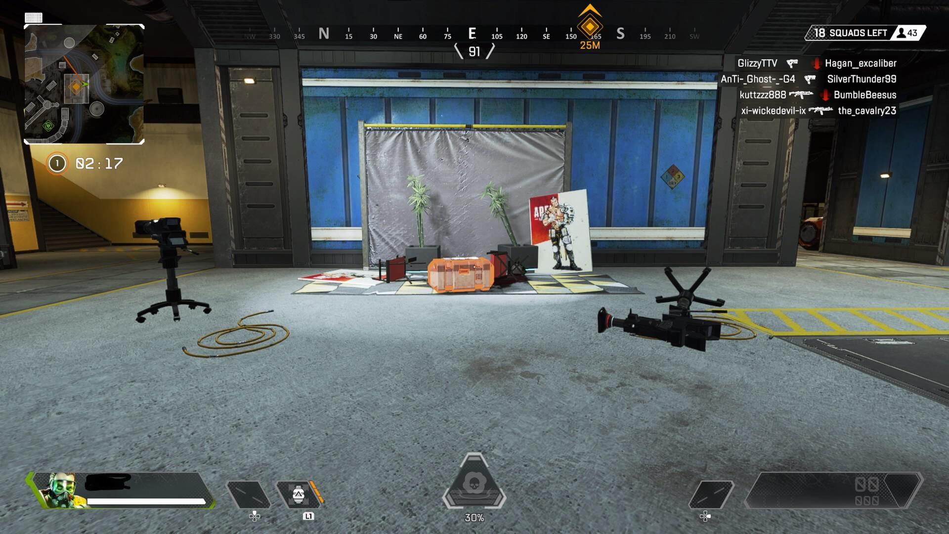 The set where Forge was attacked in Apex Legends.