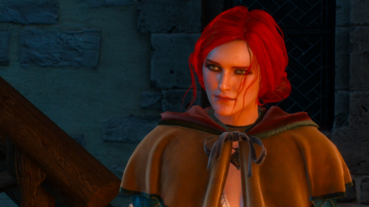 Triss Merigold in The Witcher 3