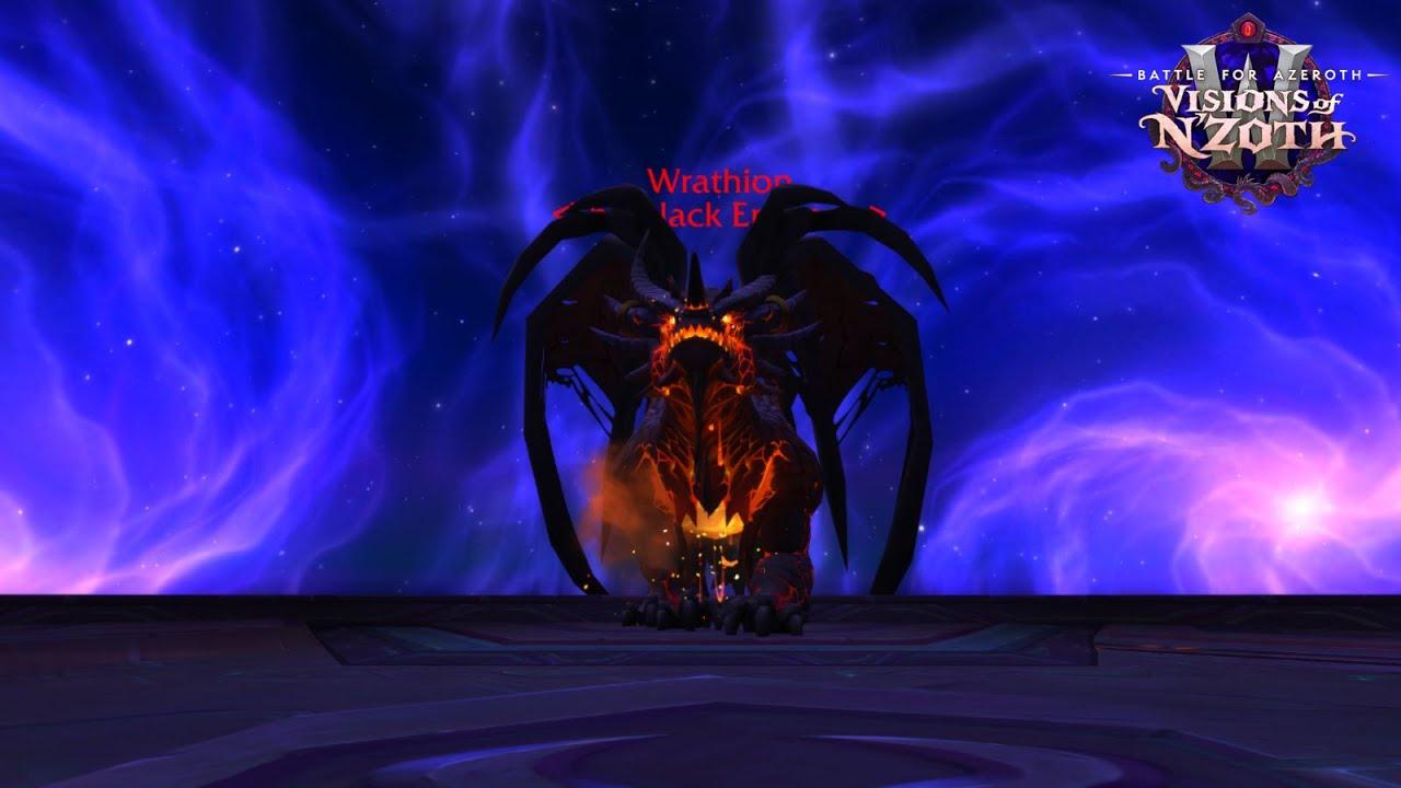 Wrathion WoW BfA Ny'alotha boss