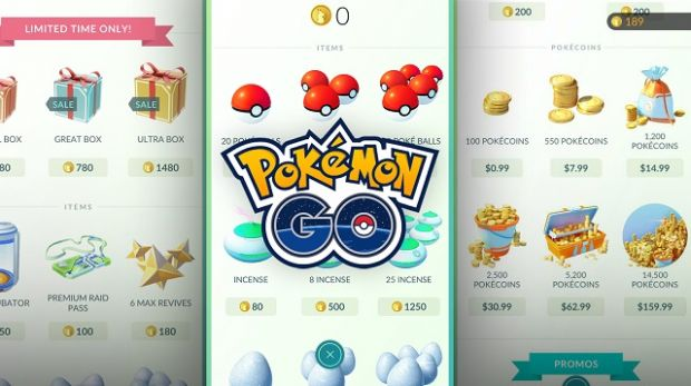 Pokemon Go Shop PokeCoins