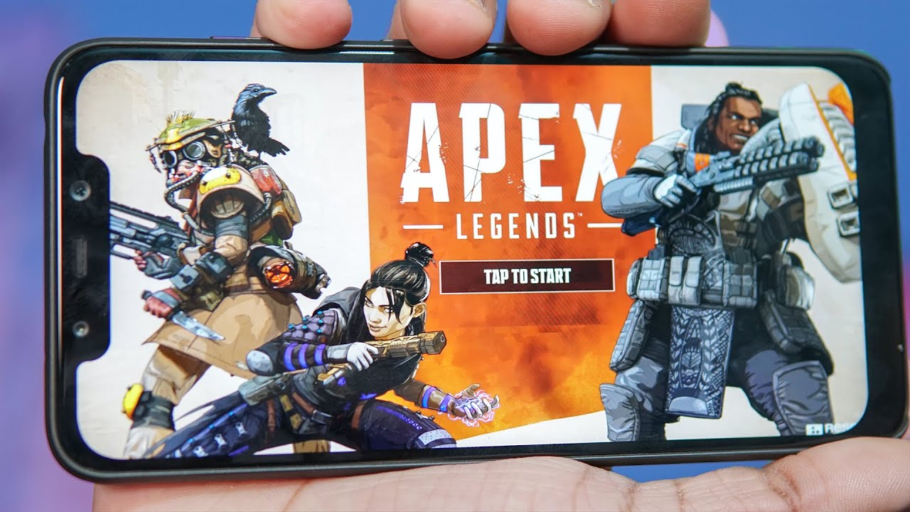 Playing Apex Legends on an android phone