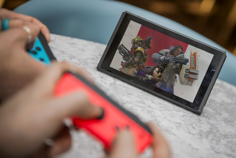 Playing Apex Legends on the Nintendo Switch