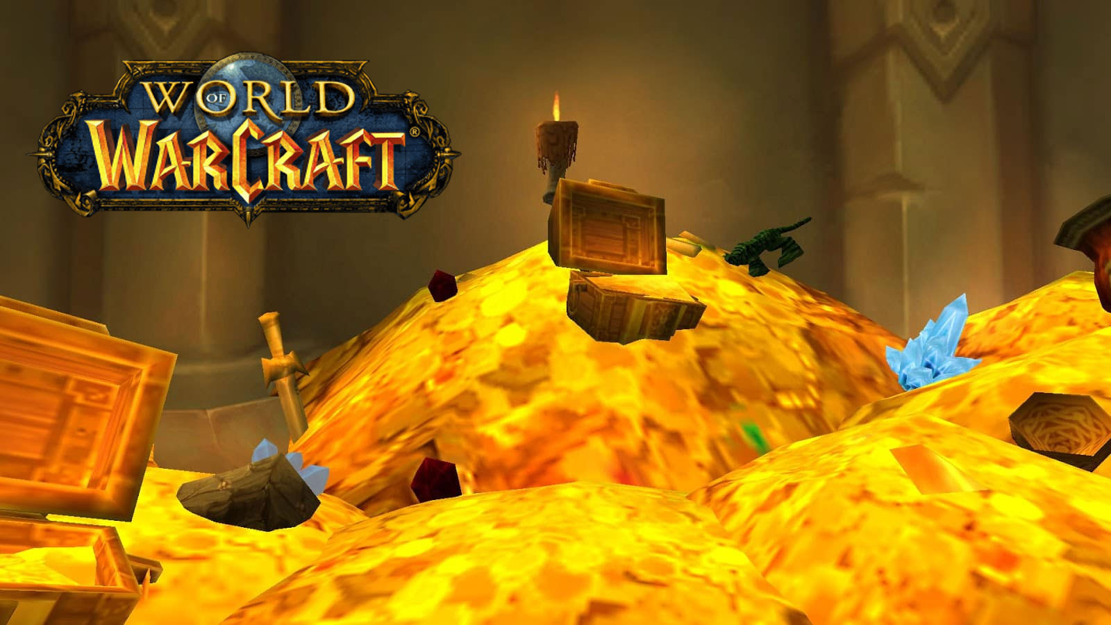 Pile of gold in World of Warcraft