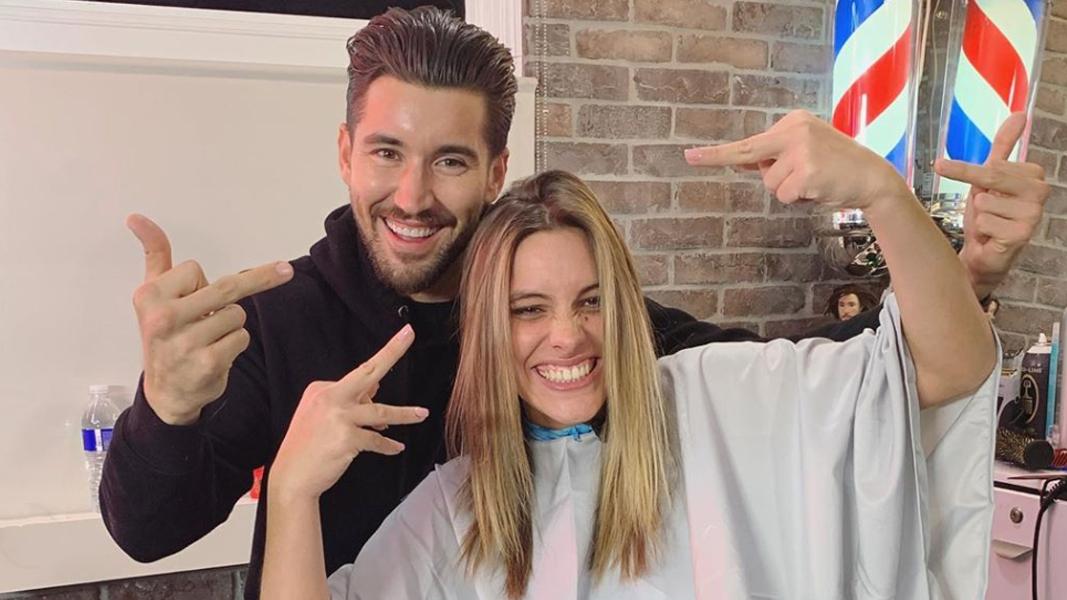 Lele Pons and Jeff Wittek join for Barber SHop segment
