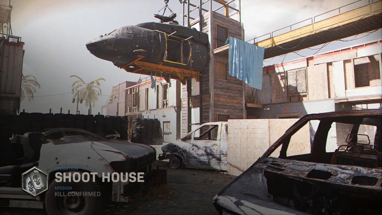 Modern Warfare's Shoot House.