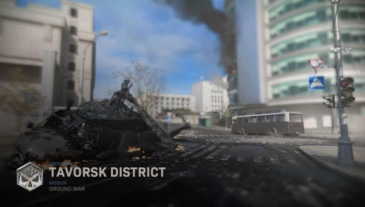 Modern Warfare's Ground War map Tavorsk District