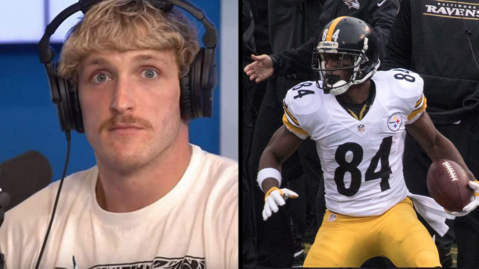logan paul antonio brown match