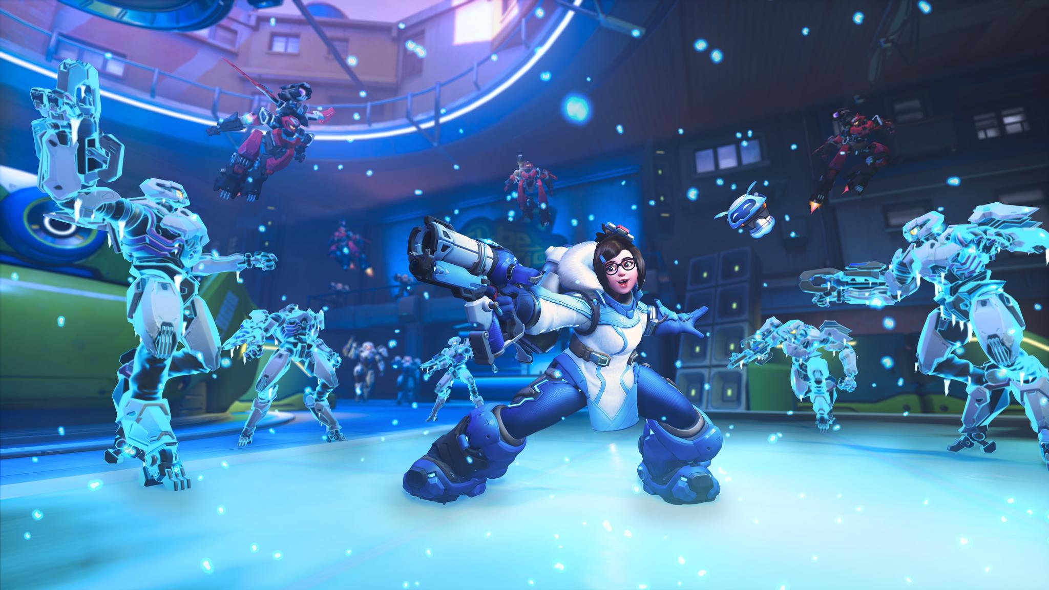 Mei Overwatch freezing enemies