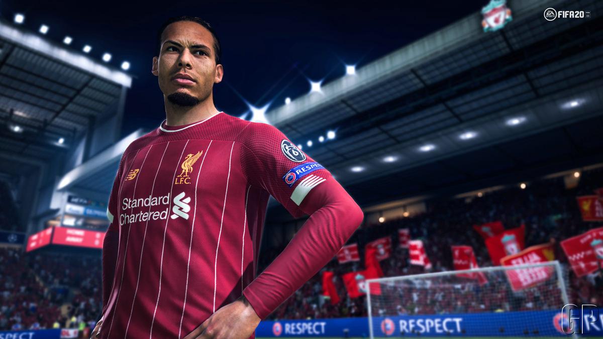 Van Dijk in FIFA 20