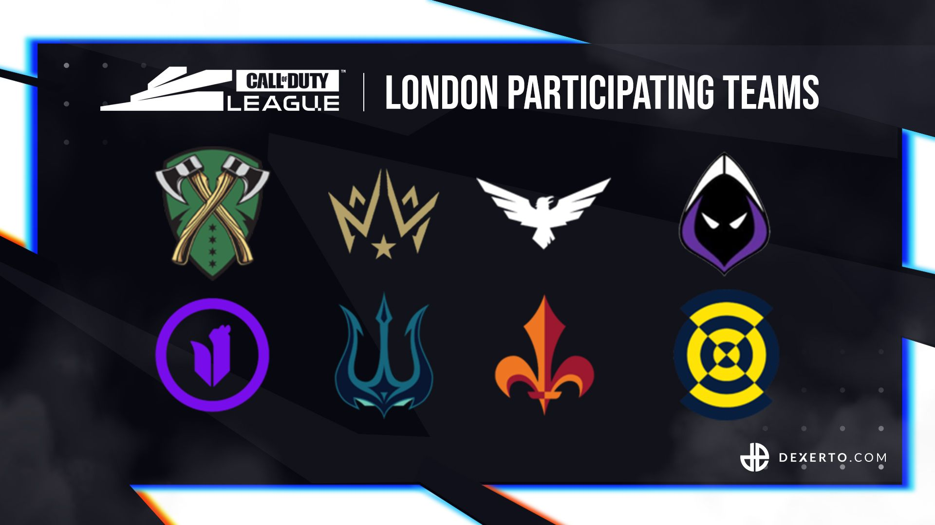 CDL London's teams.