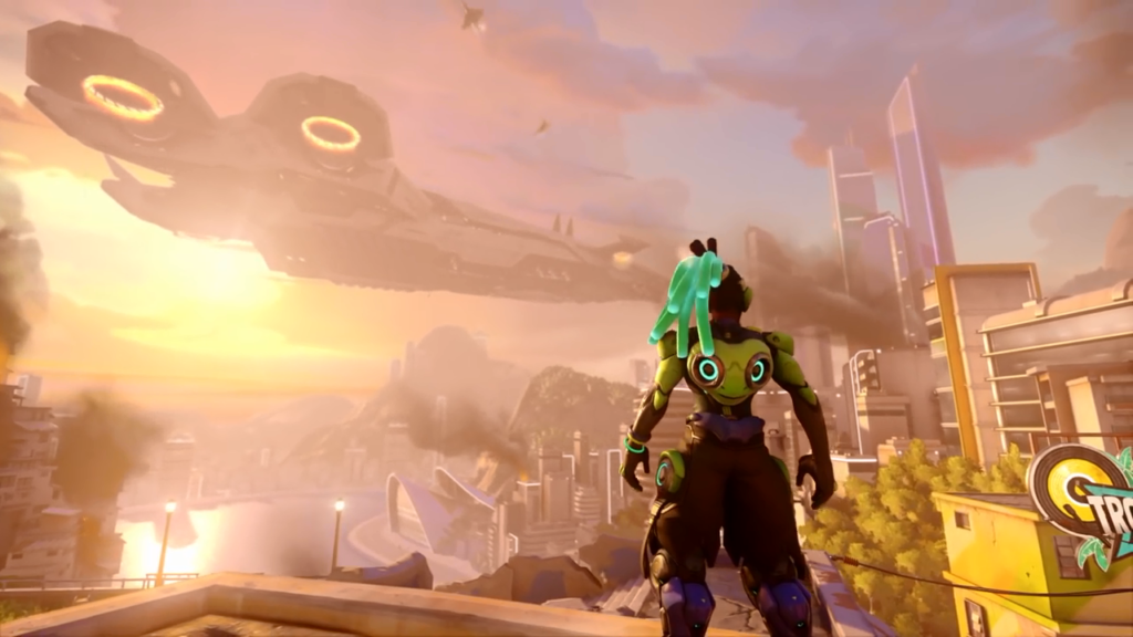 Lucio in Overwatch 2 Story Mode