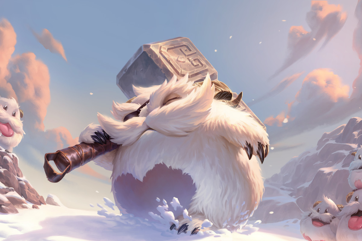 Legends of Runeterra Poro artwork