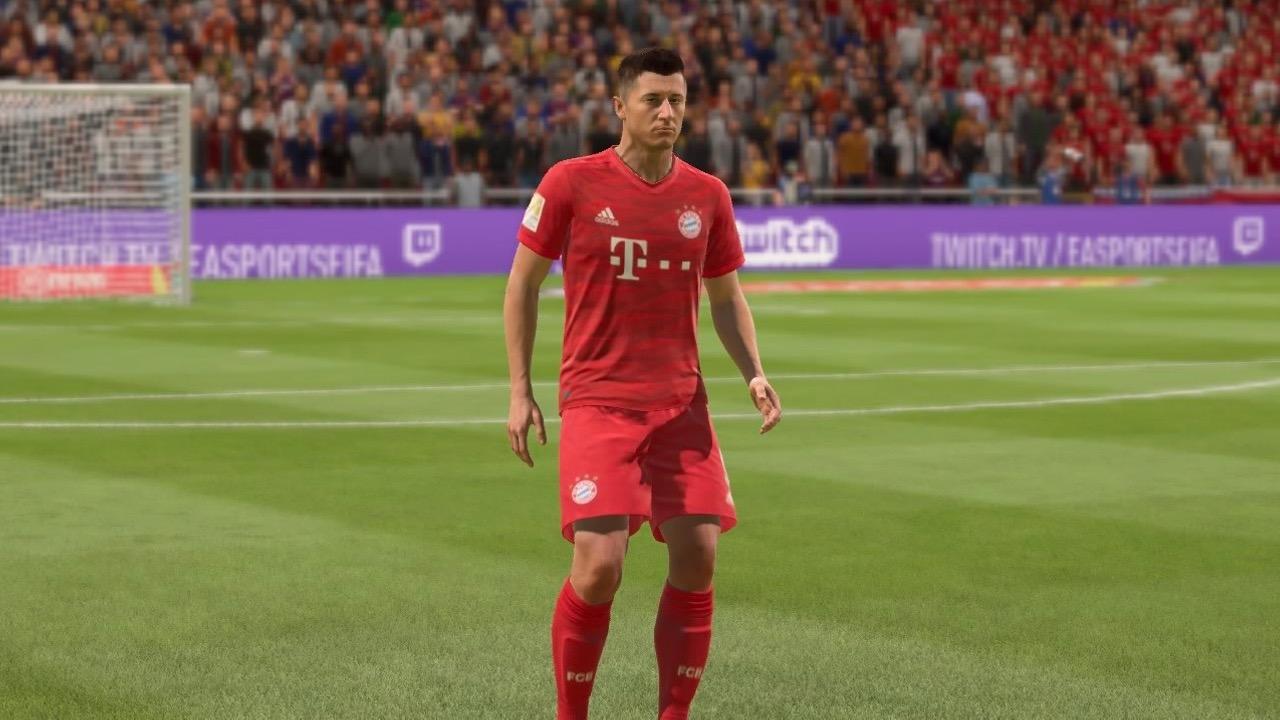 Robert Lewandowski in FIFA 20