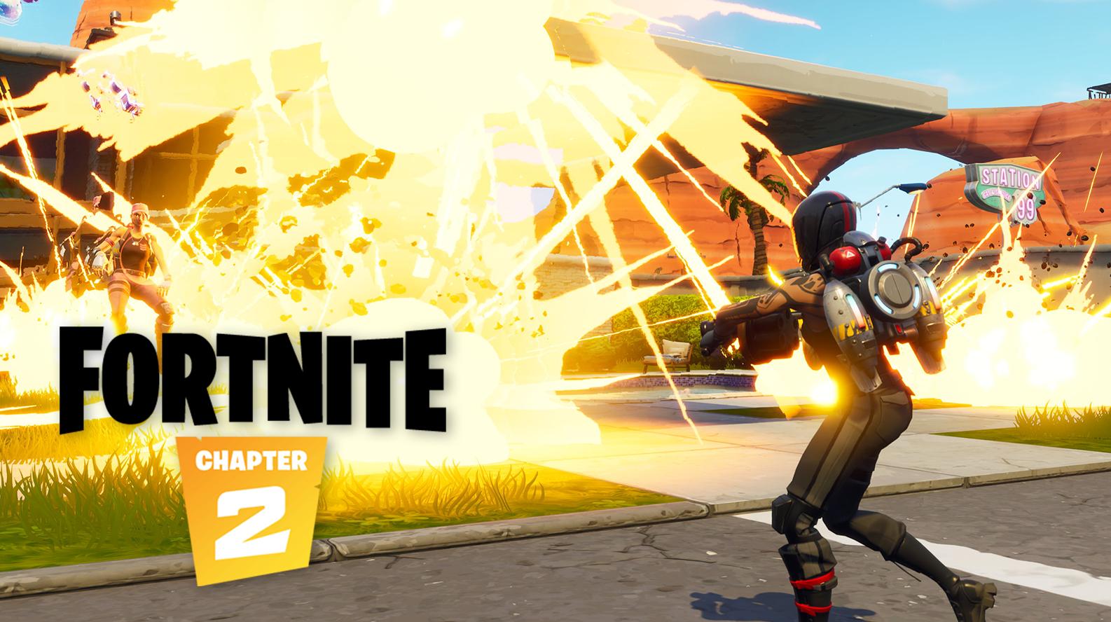 Fortnite explosions