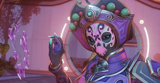 Overwatch Sombra Face Changer skin