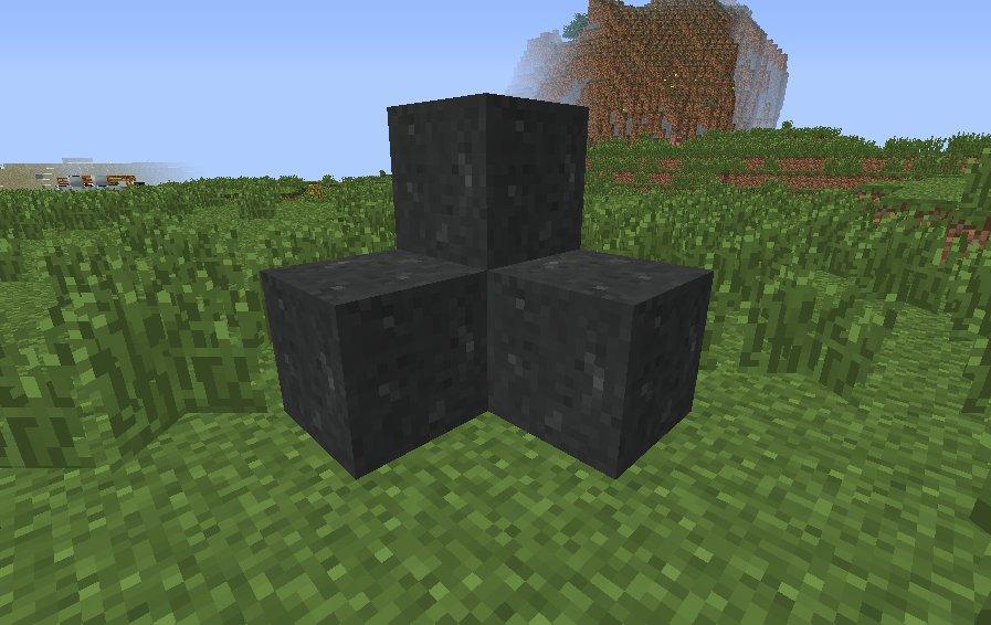 Basalt Rocks in Minecraft