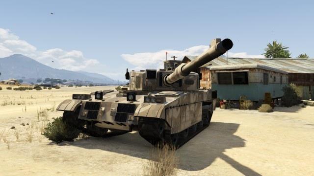 Rhino Tank in GTA Online