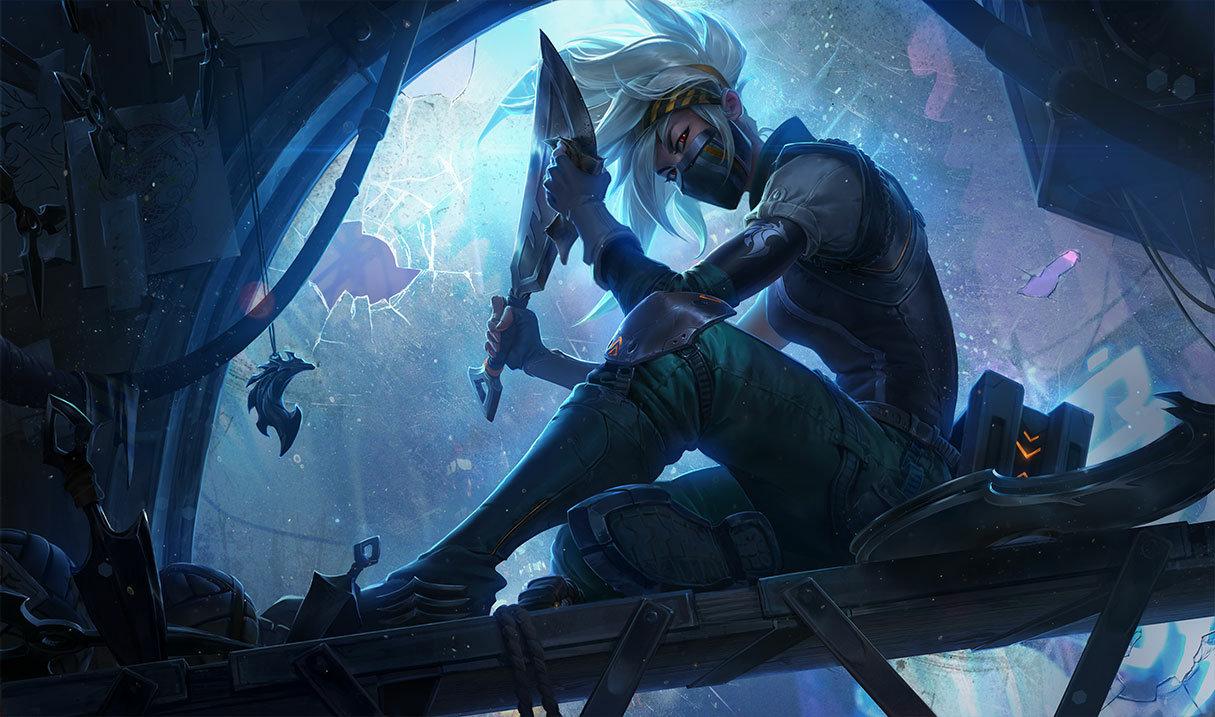 Silverfang Akali skin for League of Legends
