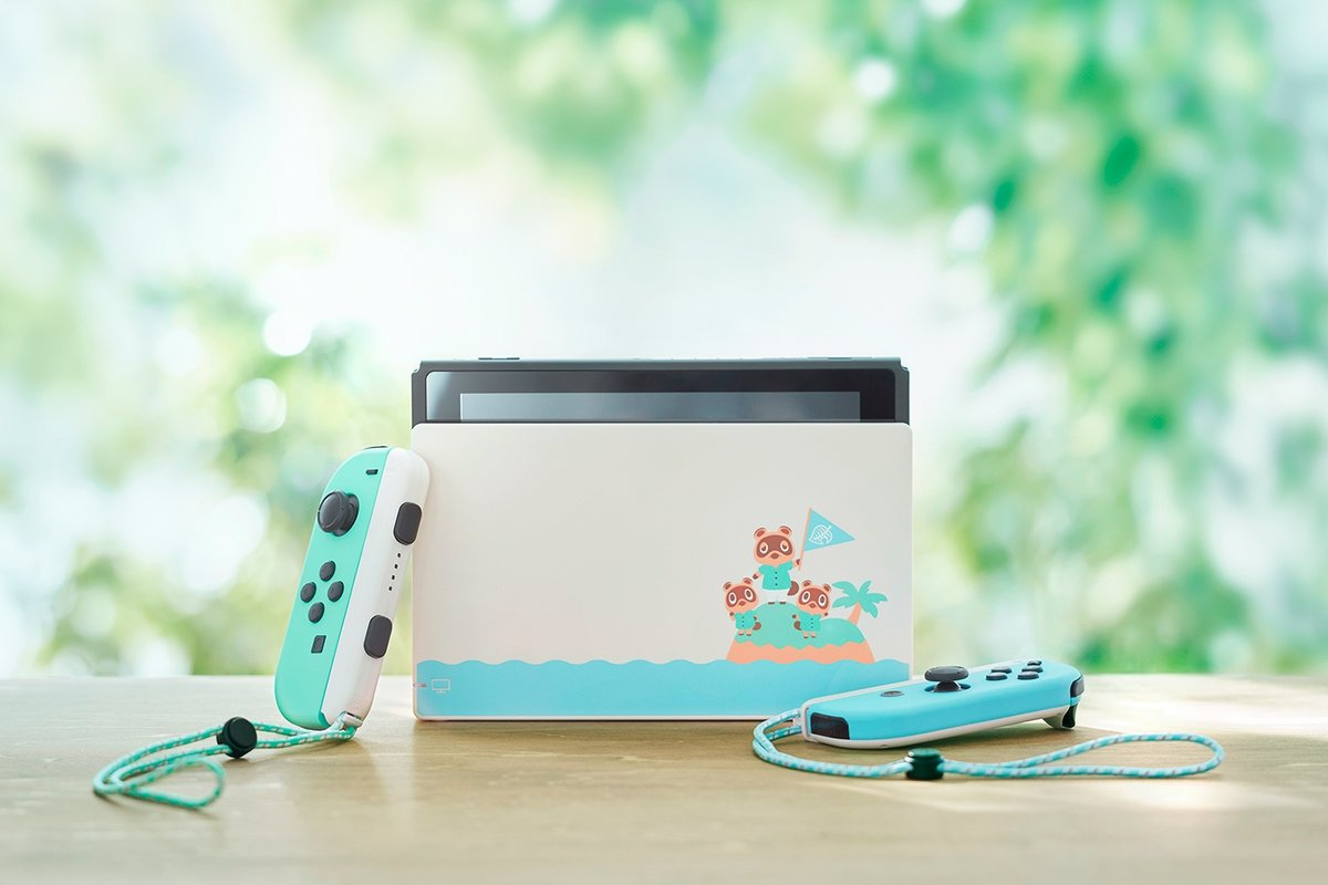 Animal Crossing New Horizons Nintendo Switch console
