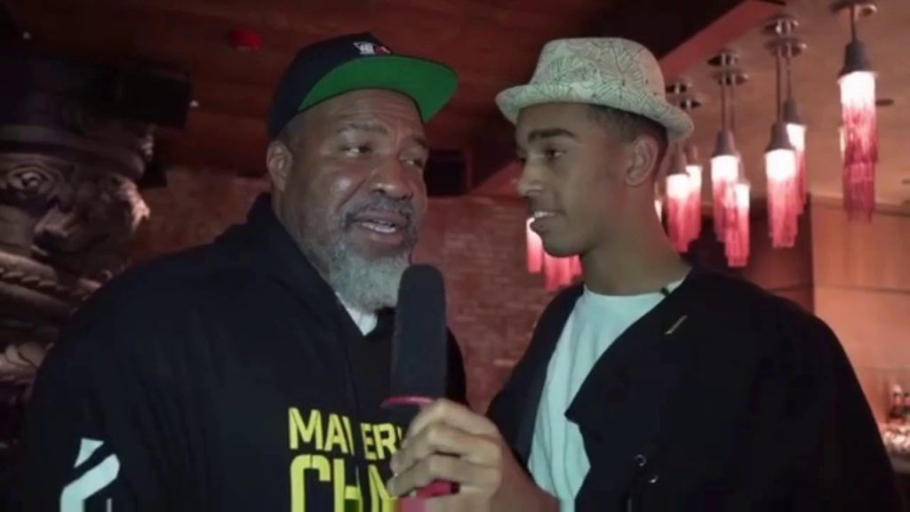 Shannon Briggs and Niko Omilana on YouTube.