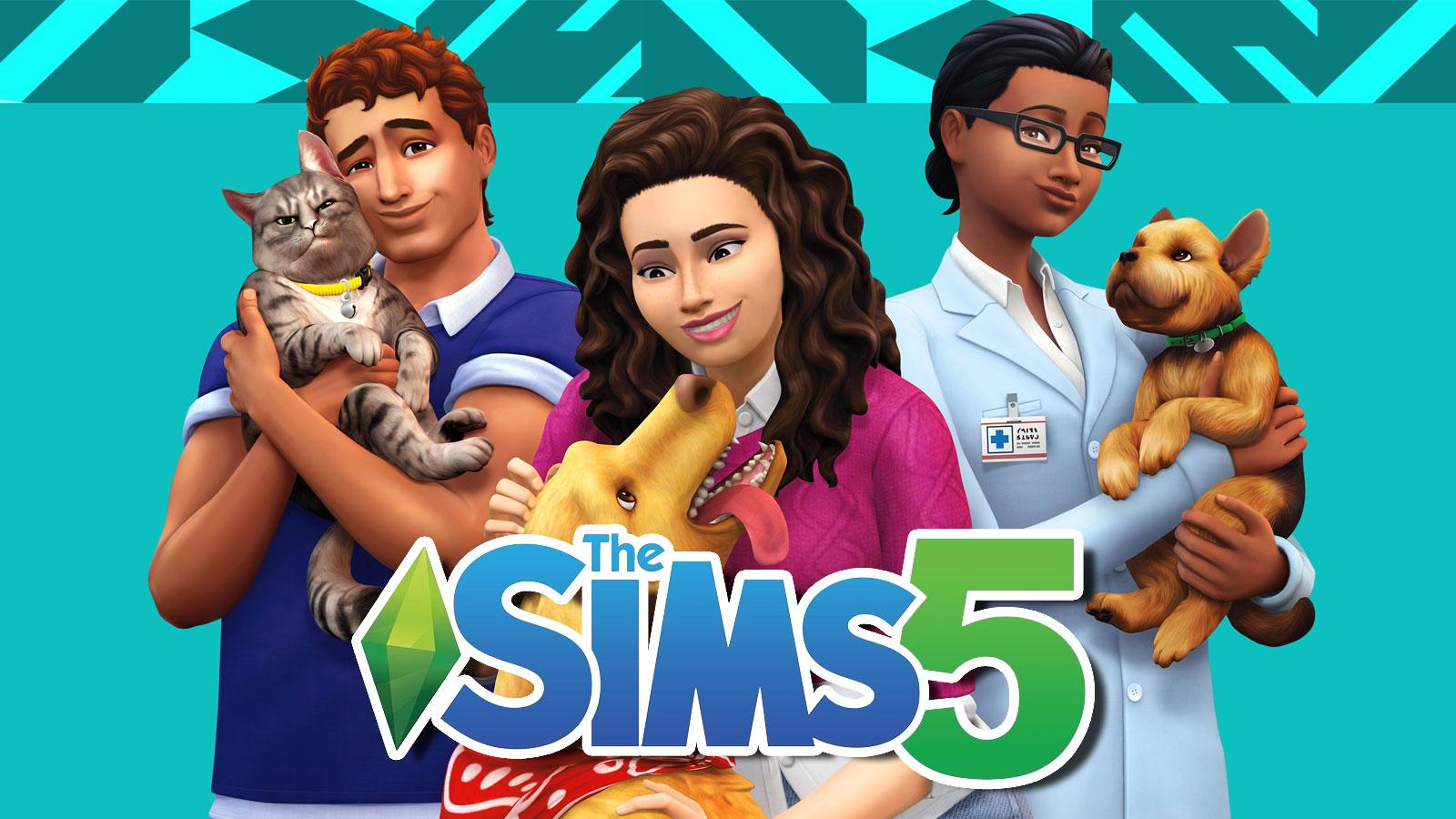 the sims 5 promo art
