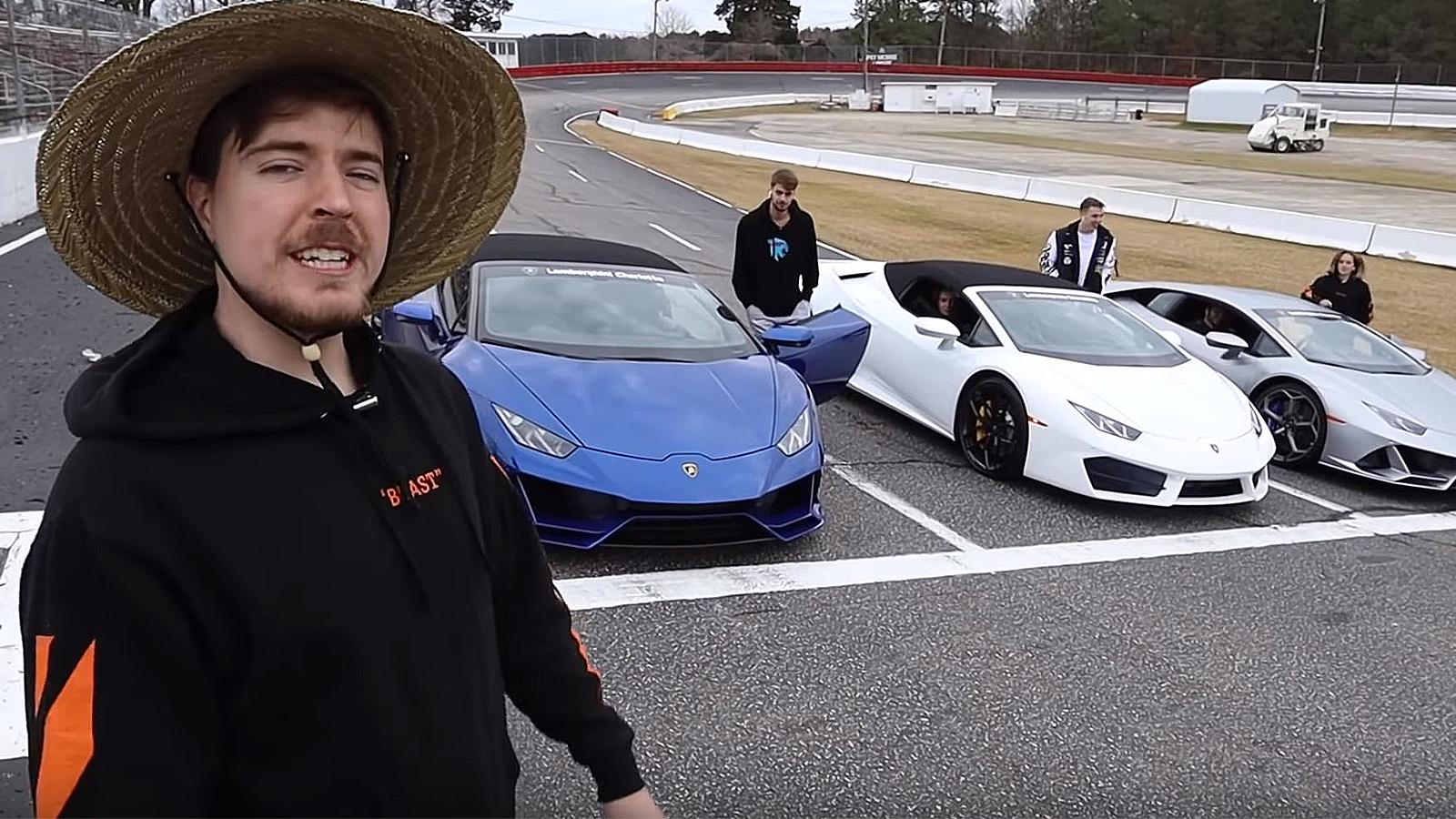 MrBeast Lamborghini challenge.