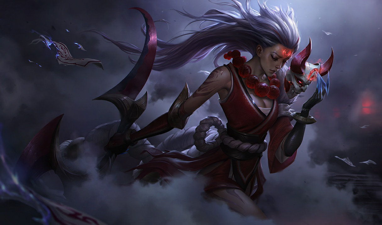 Blood Moon Diana in League of Legends