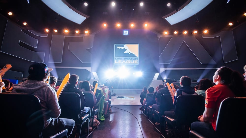 Overwatch League stage.