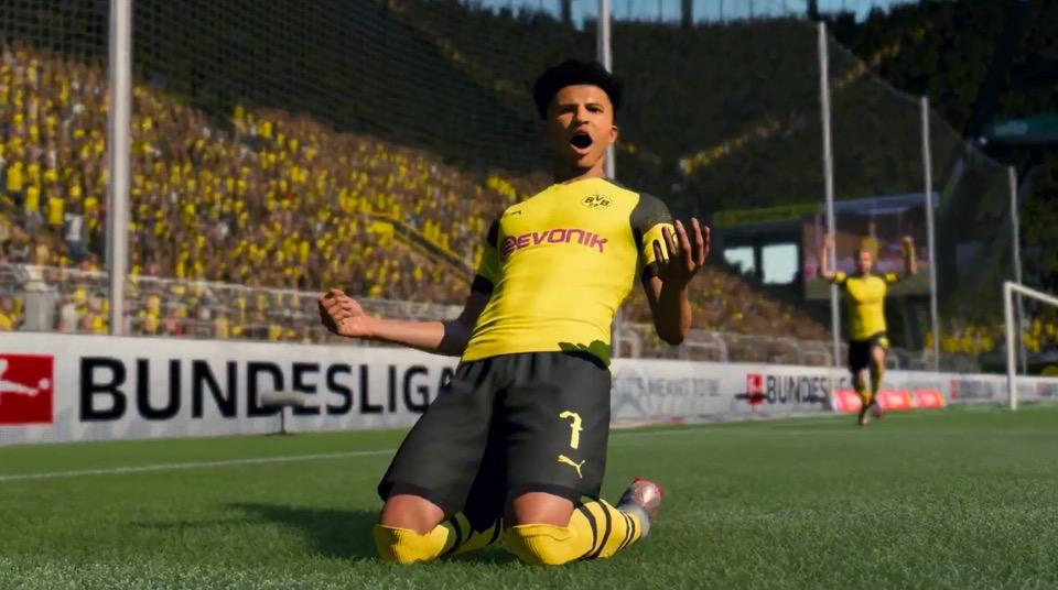 Sancho in FIFA 20