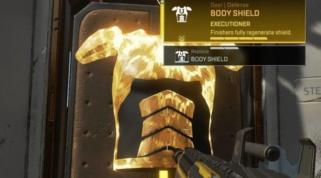 Gold shield in apex legends