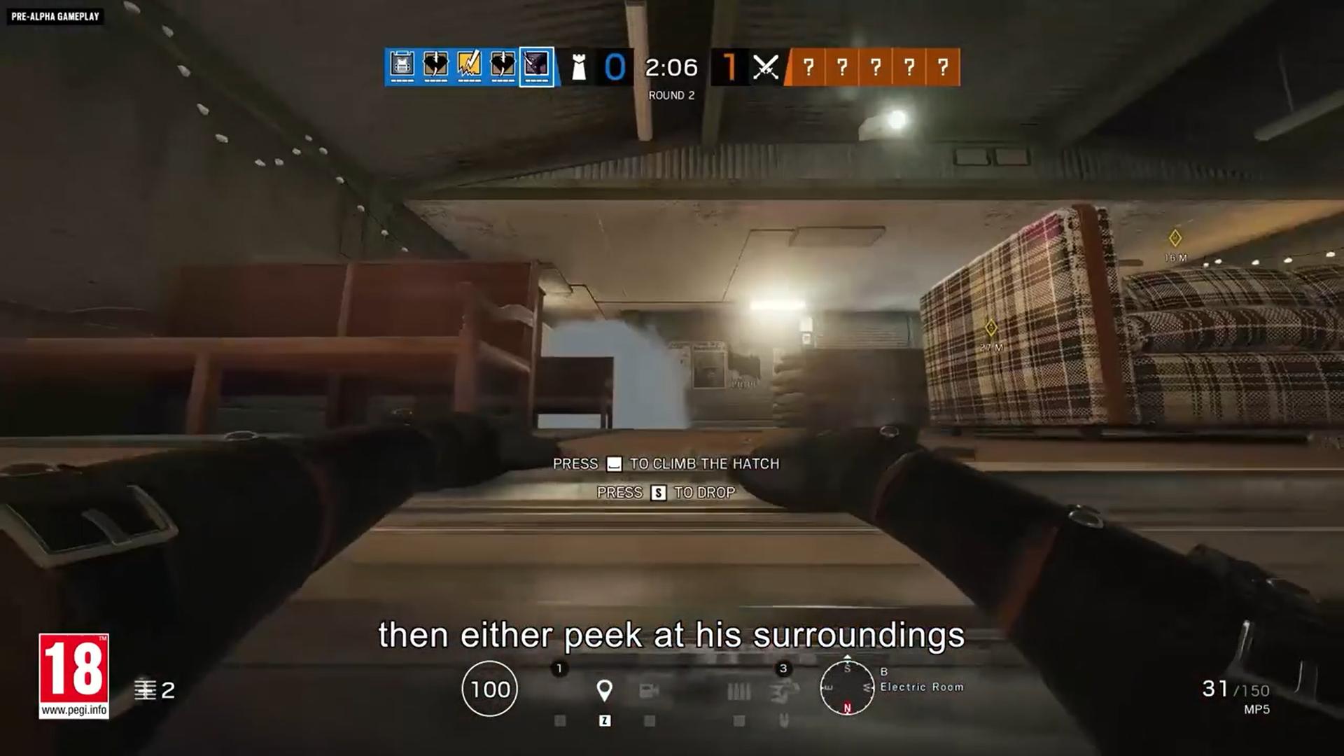 Oryx leap gadget in Rainbow 6