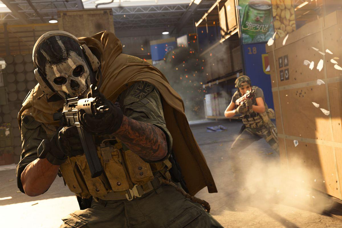 Grau being used in Modern Warfare